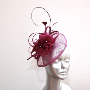 Blackcurrant Jam women's fascinator 15755/SD235